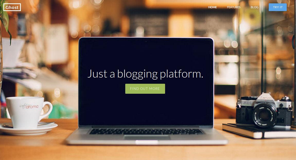 Ghost: Blogging Platform on node.js: I backed!