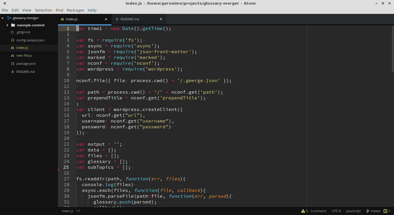 atom-editor-syntax-highlight-file-tree-git-integration