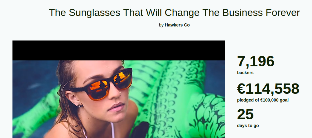 Intent to disrupt: Hawkers sun glasses