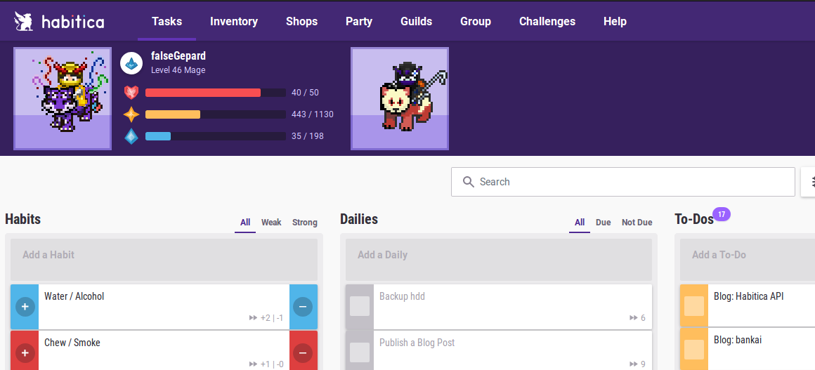 Habitica Habit Tracker Review