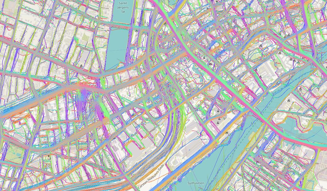Getting into Open Street Map (Copenhagen)