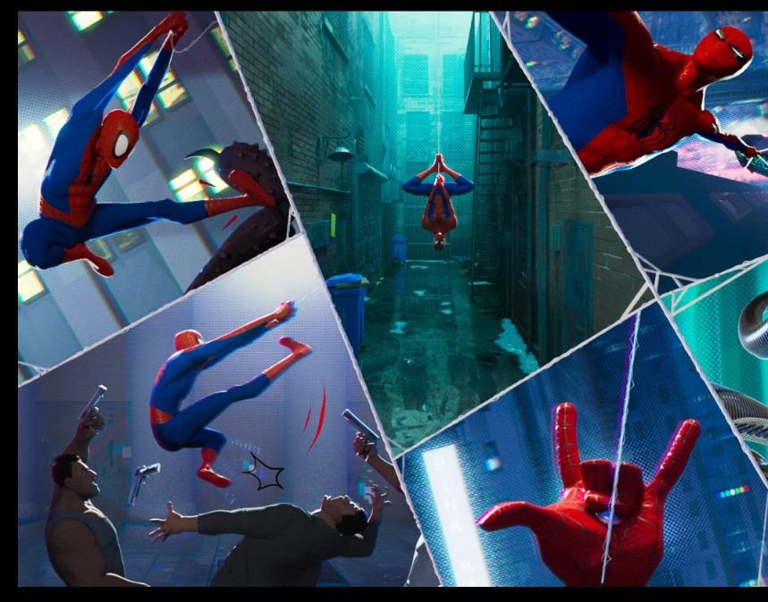 Spiderman: Into the Spiderverse; Visual Style Mashup Deluxe
