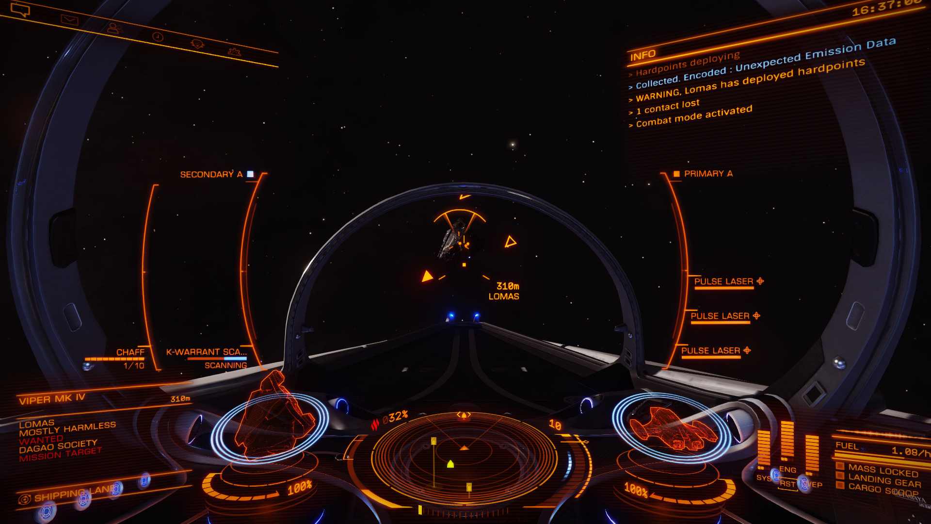 Elite Dangerous: You are small, the 'Verse is big.