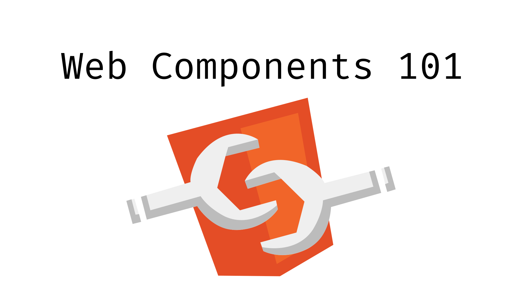 Web Components 101: Hello World